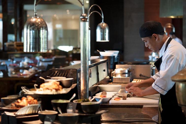 ザ リッツカールトン バリのセンシスレストラン