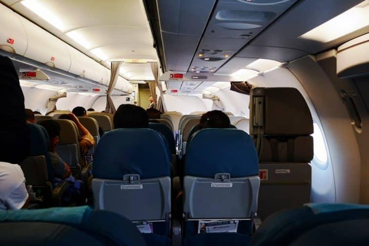A321ceo エコノミークラス