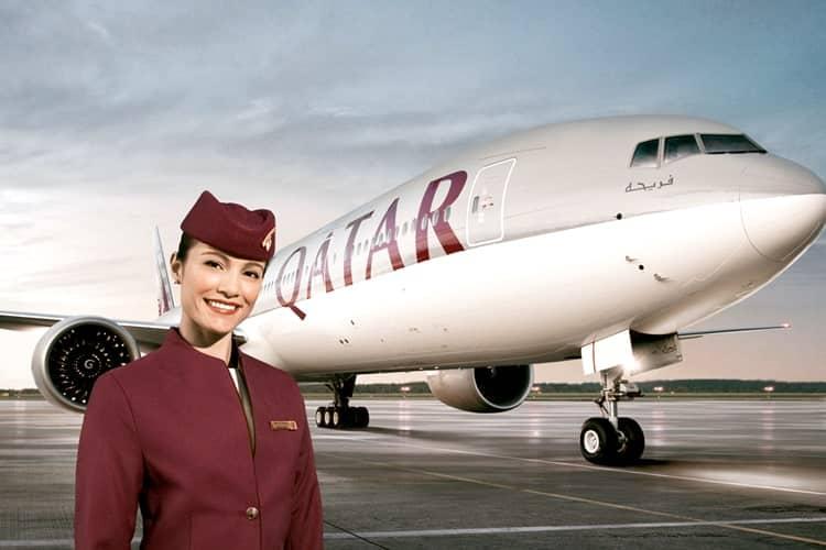 世界最高峰の航空会社カタール航空