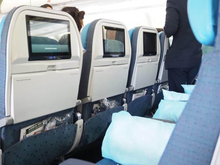 フィリピン航空 A330 機材 エコノミークラス