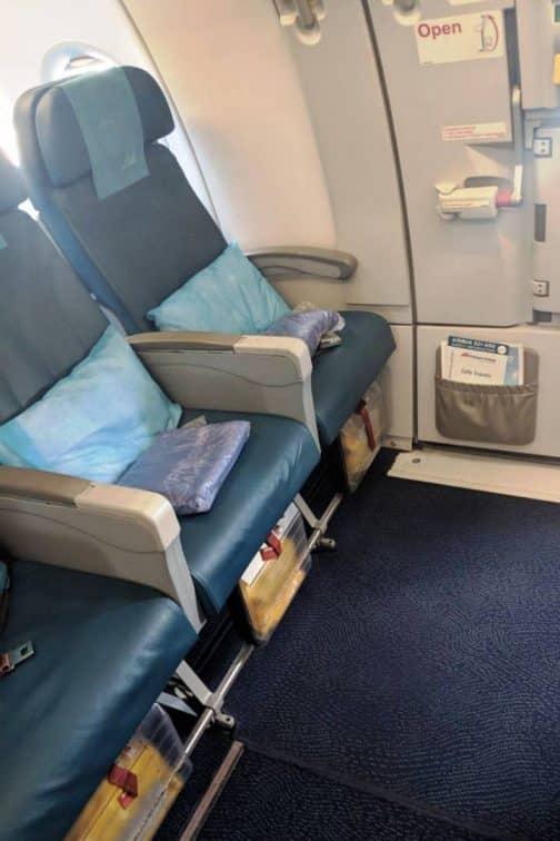 A320-200 非常口席