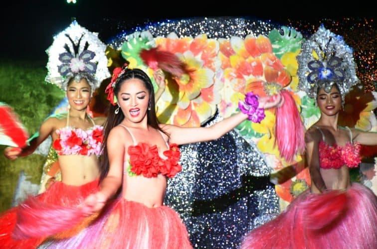 ラスベガス フラダンスのパフォーマンス