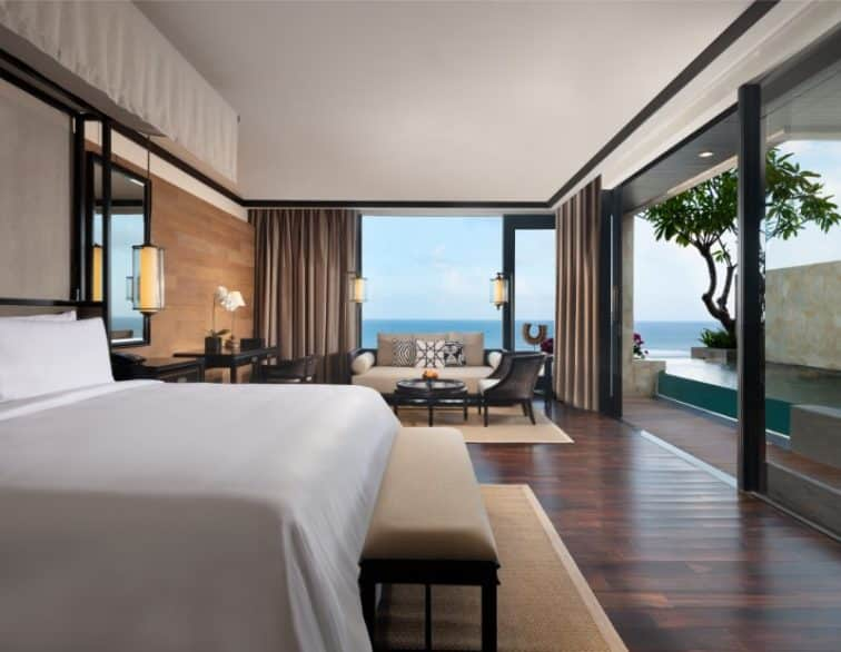 The Apurva Kempinski Bali_Cliff Pirvate Pool Ocean Suite King