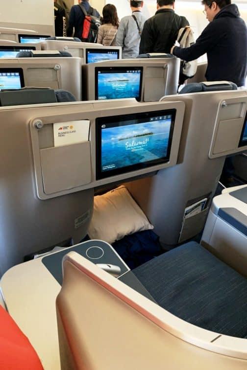 A321neo ビジネスクラス