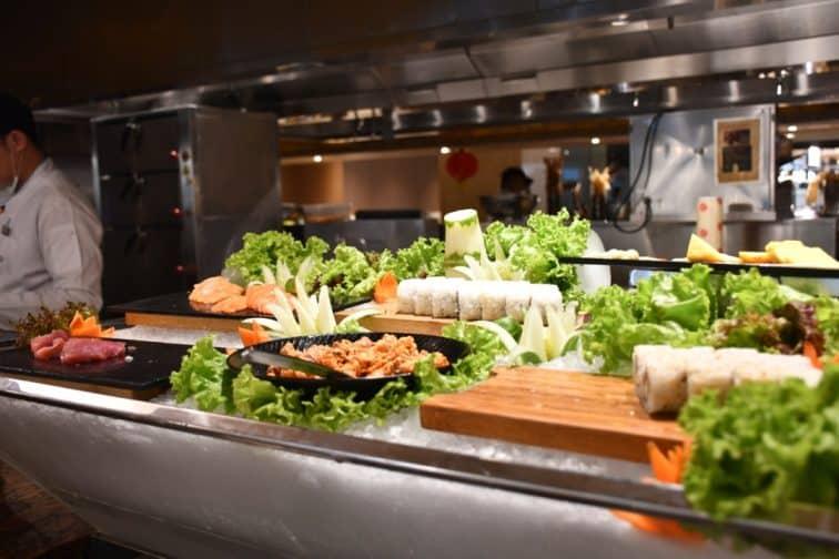バイホテル カフェバイ 寿司