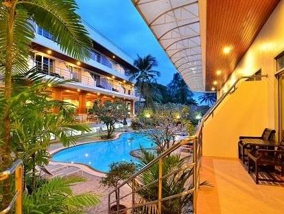 サムイ ファースト ハウス ホテルのプール