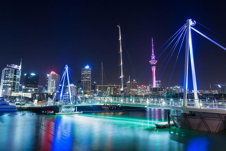 ニュージーランド・オークランド夜景