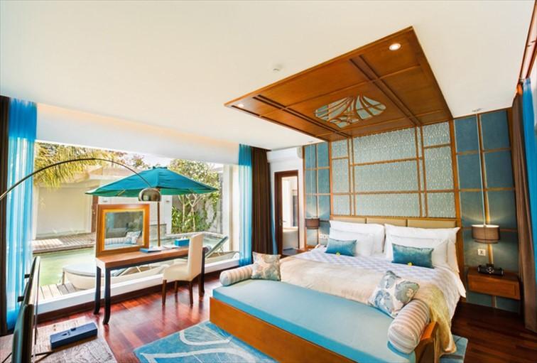 「ザ リーフ ジンバラン」の客室