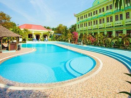 ロングビーチ周辺にある立地重視の3ッ星「Thien Hai Son Resort」