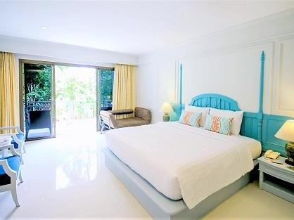 クラビのホテル にぎやかなアナオンビーチに徒歩圏内『ティパ リゾート』の客室