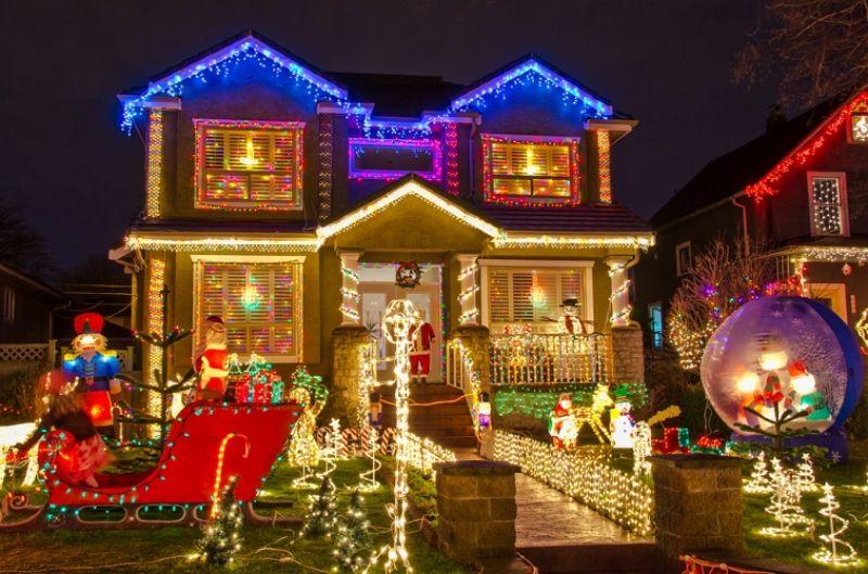 カナダ・バンクーバー クリスマス