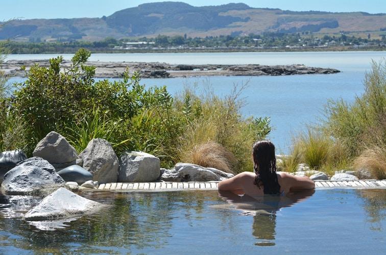 ニュージーランド・ロトルア 温泉