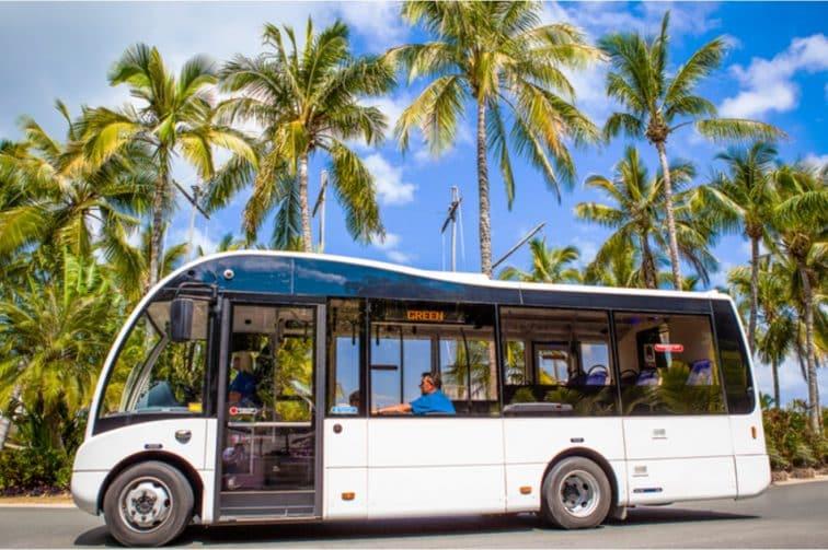 ハミルトン島・無料シャトルバス