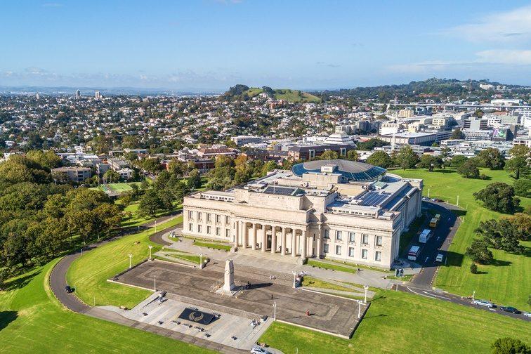 ニュージーランド・オークランド 博物館
