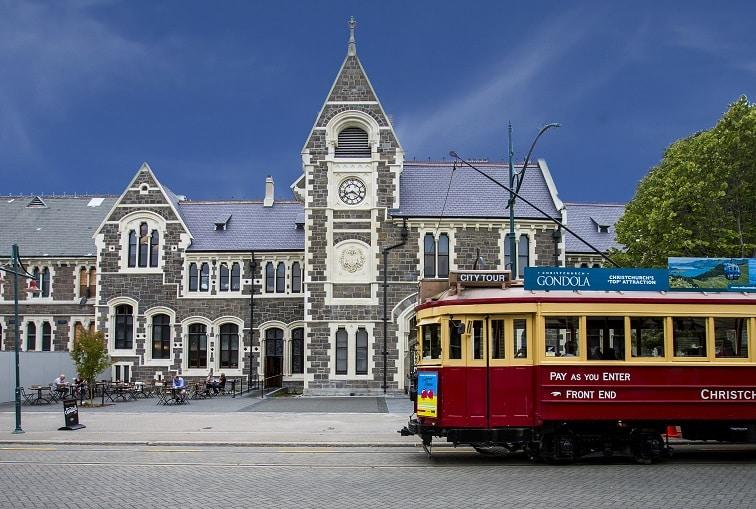 ニュージーランド・クライストチャーチ アートセンター