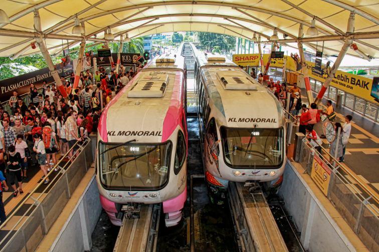 マレーシアのリッツカールトンの最寄り駅は「ブキビンタン駅」