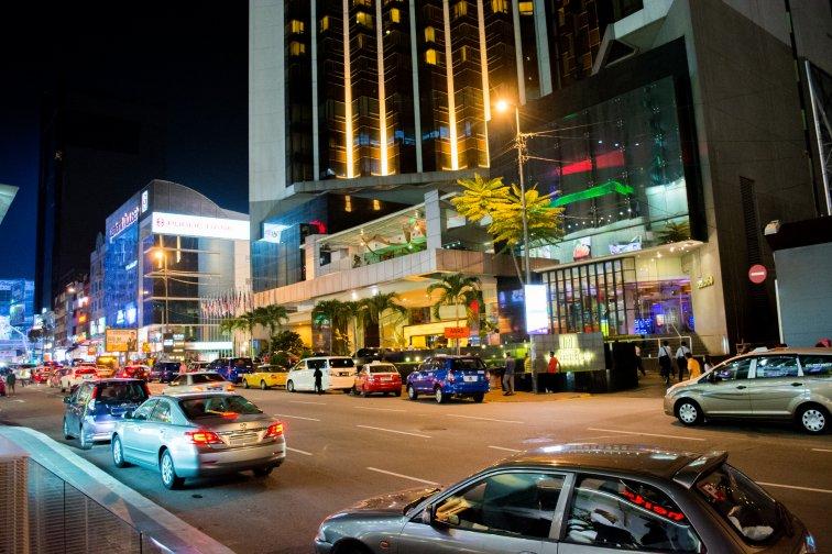 マレーシアのリッツカールトンの立地は「ブキビンタン」エリア