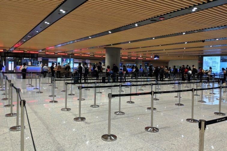 セブ マクタン国際空港 到着時