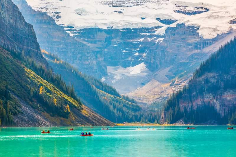 カナダ・カナディアンロッキー ルイーズ湖