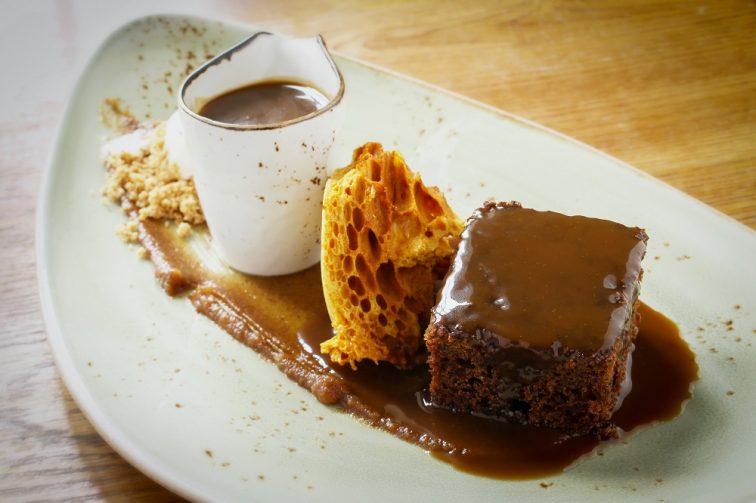 イギリス名物料理SSticky toffee pudding