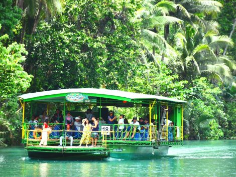 bohol loboc river cebu tour