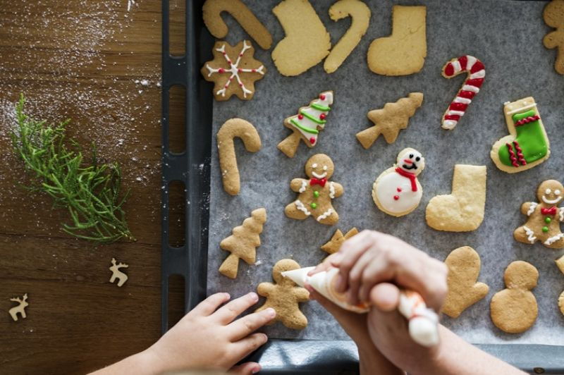 カナダ・クリスマス ジンジャークッキー