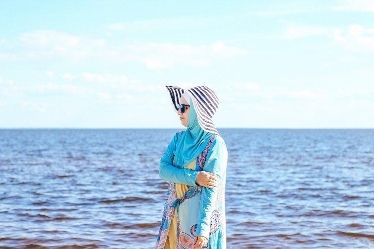 イスラム教女性水着