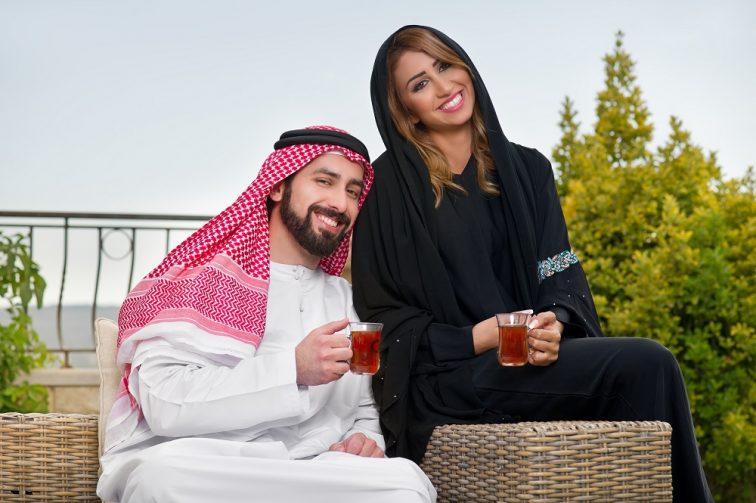 カタールイスラム教の夫婦