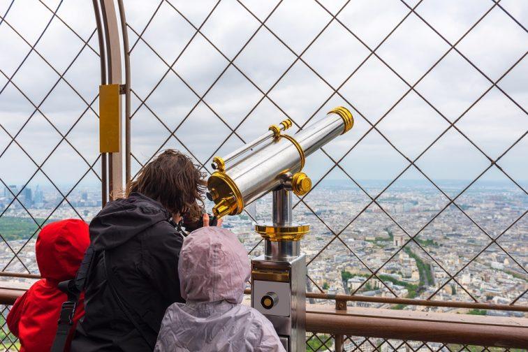 エッフェル塔展望台