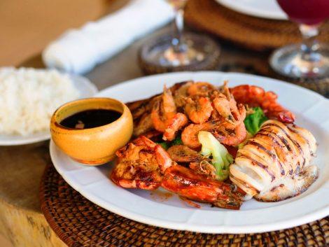 shrimp food manila tour