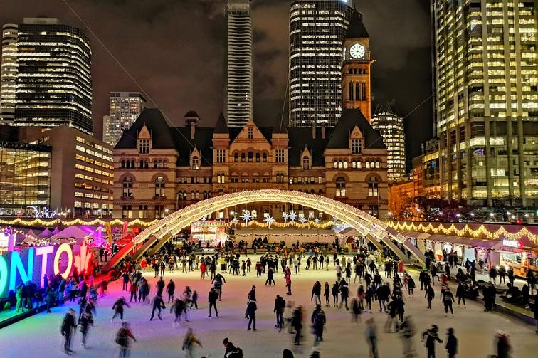 カナダ・トロント クリスマス