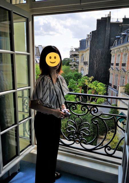 シャングリラホテルパリ エッフェル塔ビューの部屋
