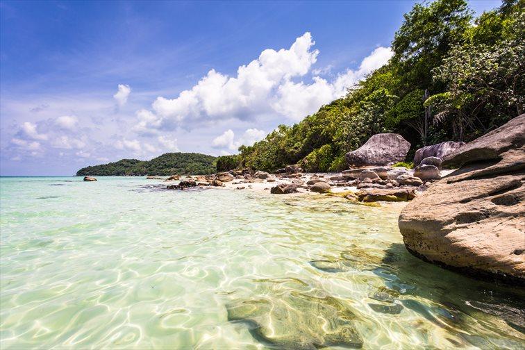 フーコック島の海
