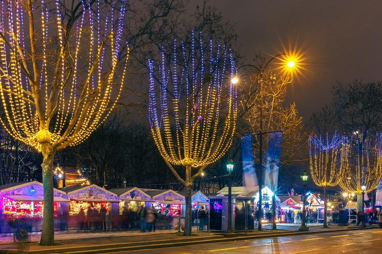 シャンゼリゼ通り クリスマスマーケット