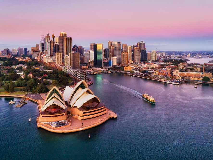 オーストラリア・シドニー(3×4)