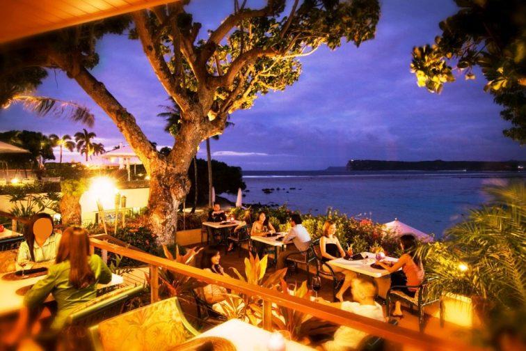 restaurant BBQ tropics in hilton guam