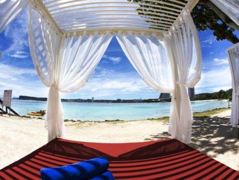 Beach-Cabana hilton guam tour