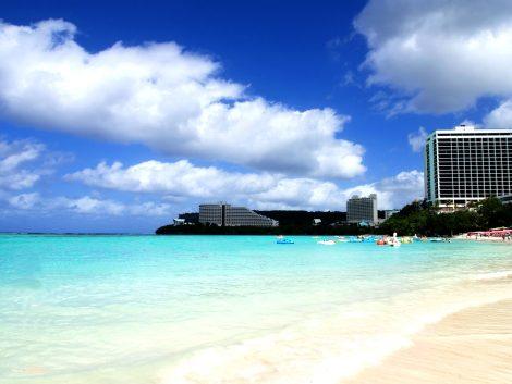 Beach in Guam guam tour