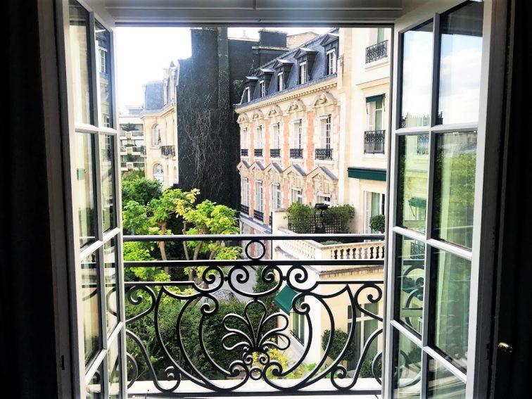 シャングリラホテル エッフェル塔ビュー