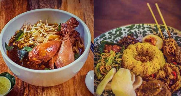 ウォーターボム・バリ パーク内ではさまざまな料理が楽しめます