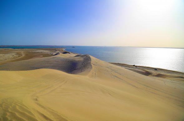 カタール 砂漠