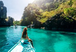 elnido girl on the boat