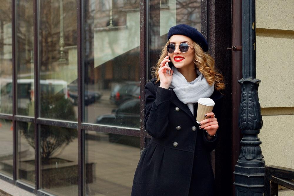 冬 フランスの服装