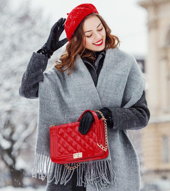 フランス 冬 手袋