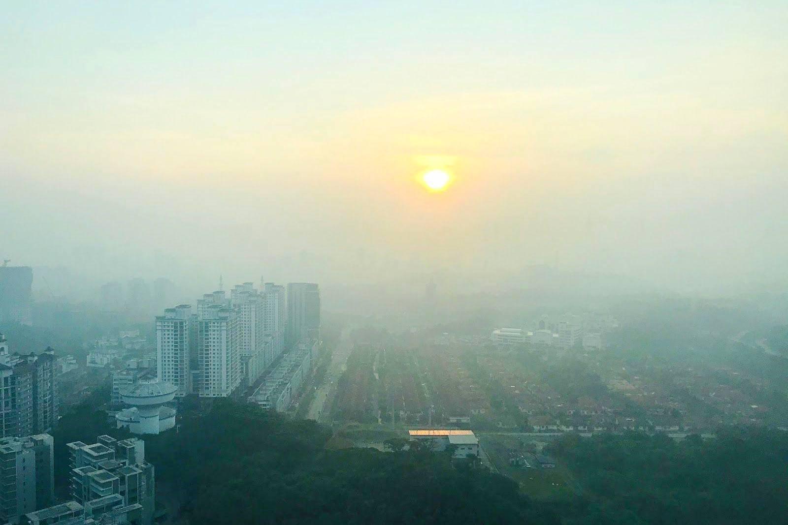 マレーシアの大気汚染「ヘイズ」
