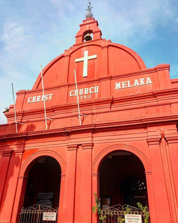 マラッカの歴史を感じることのできる教会