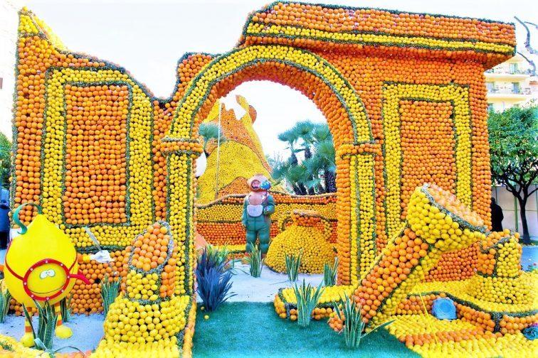 マントンのレモン祭り