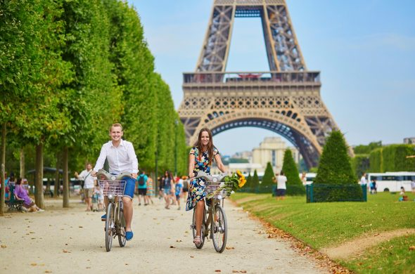 パリ レンタルサイクル