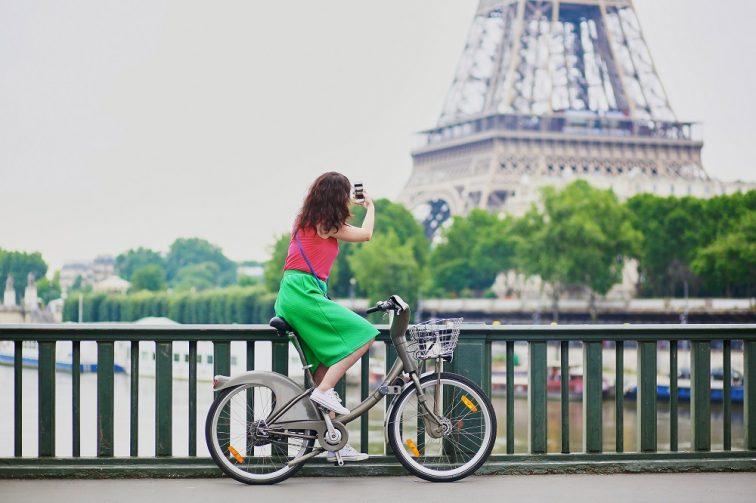 パリ レンタル自転車