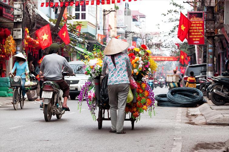 地域によって気候が異なるベトナム